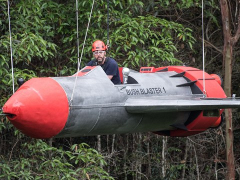 Iain Lee smashes I'm A Celeb bushtucker trial as he faces fear of heights for his sons