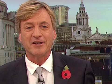 Richard Madeley's attempt to introduce a Hugh Bonneville interview couldn't have been more awkward