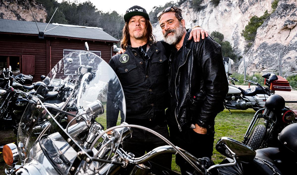 The Walking Dead fans swarm Jeffrey Dean Morgan in clip from Ride With Norman Reedus