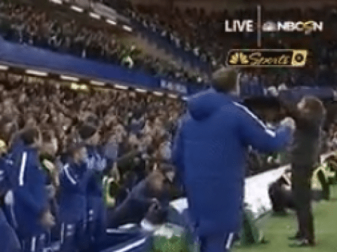 Antonio Conte completely snubs Jose Mourinho at final whistle after Chelsea's victory against Manchester United