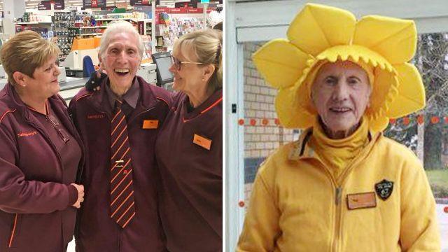 UK's 'oldest supermarket worker' dies two months after retiring