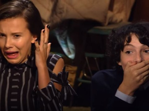 Finn Wolfhard and Millie Bobby Brown watched their Stranger Things audition tapes and it had them cringing hard