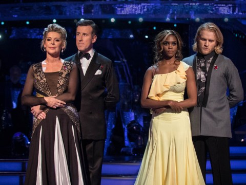 Ruth Langsford's foxtrot fails her as she's kicked off Strictly Come Dancing