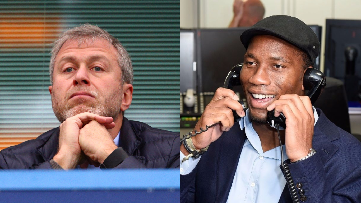 Didier Drogba reveals what Roman Abramovich said when confronted over Chelsea sackings