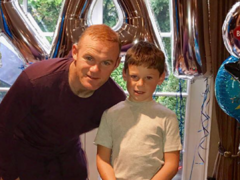 Is Wayne Rooney forgiven? Footballer celebrates Kai's eighth birthday amid rumours he's made up with Coleen