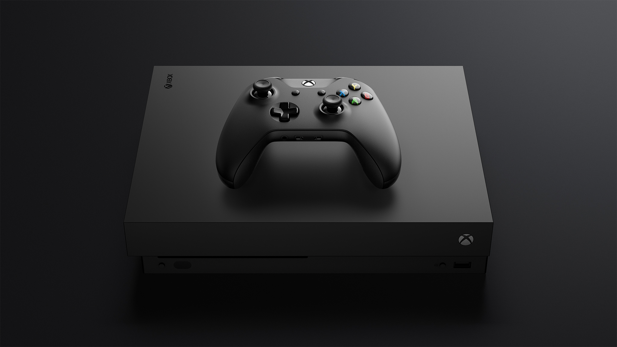 Xbox One X - currently the world's most powerful console