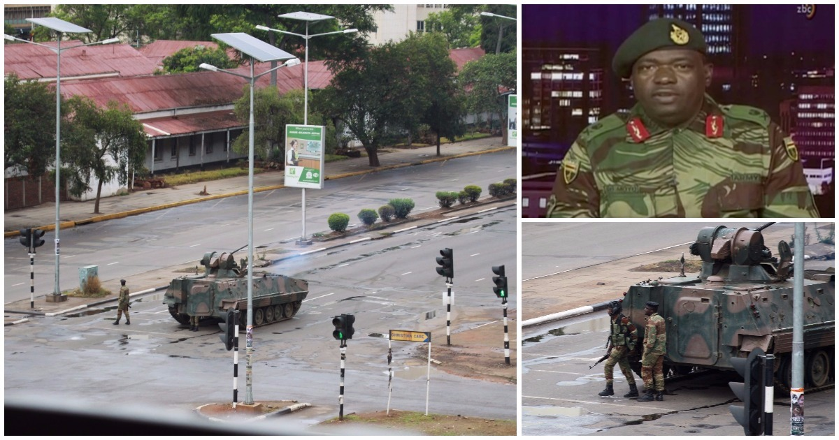 Zimbabwe army insists 'this is not a coup' as it targets top officials