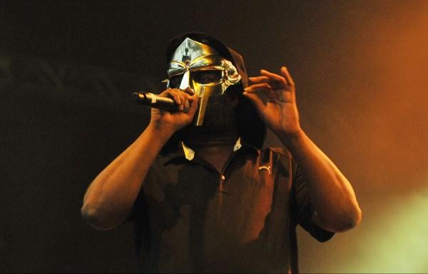 MF Doom on stage