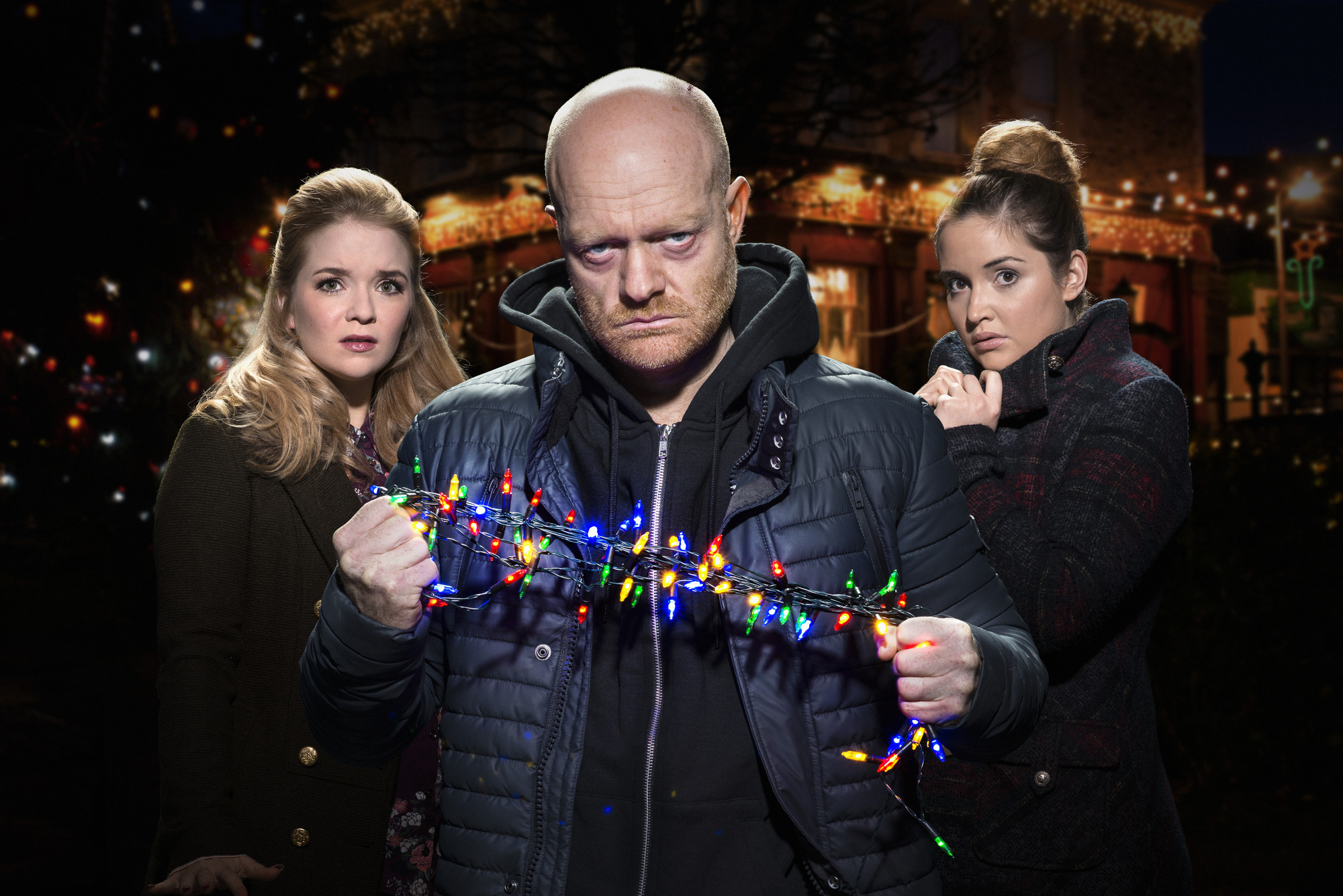Soap spoilers: Terror for Max, Lauren and Abi Branning! What happens in EastEnders' Christmas Day episode?