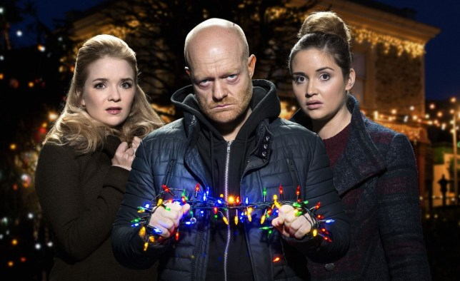Lauren Abi and Max leave EastEnders on Christmas Day
