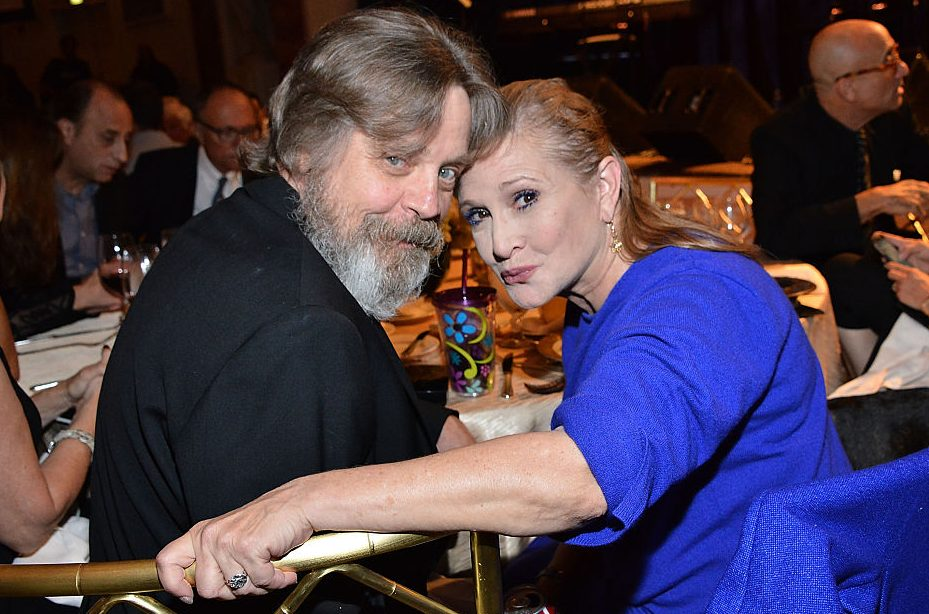 Mark Hamill pays tribute to Carrie Fisher a year on from her tragic death