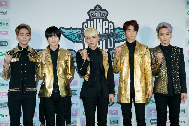 SHINee at press conference