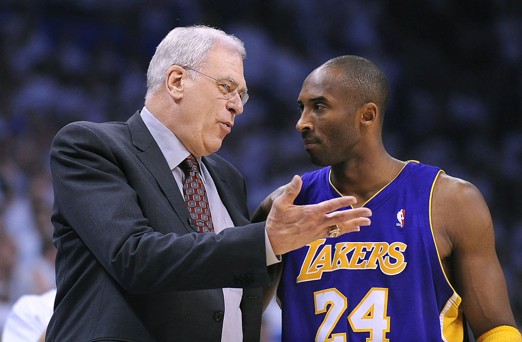 Why did Kobe Bryant change jersey numbers at the LA Lakers?