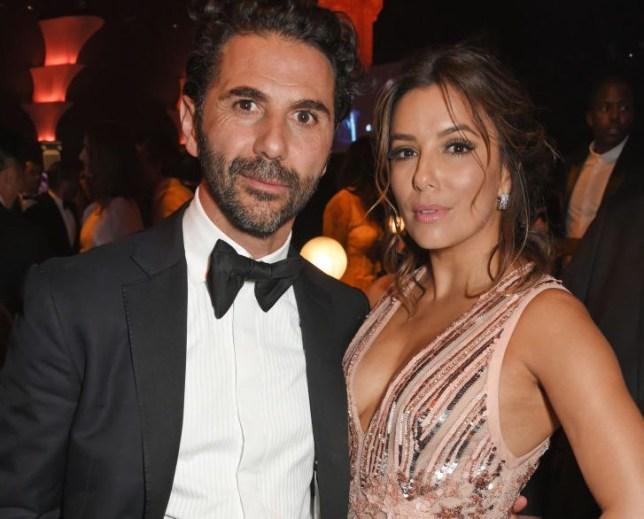 Jose Baston and Eva Longoria