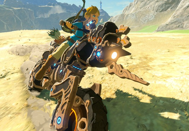 Zelda: The Champions' Ballad (NS) - Epona, eat your heart out