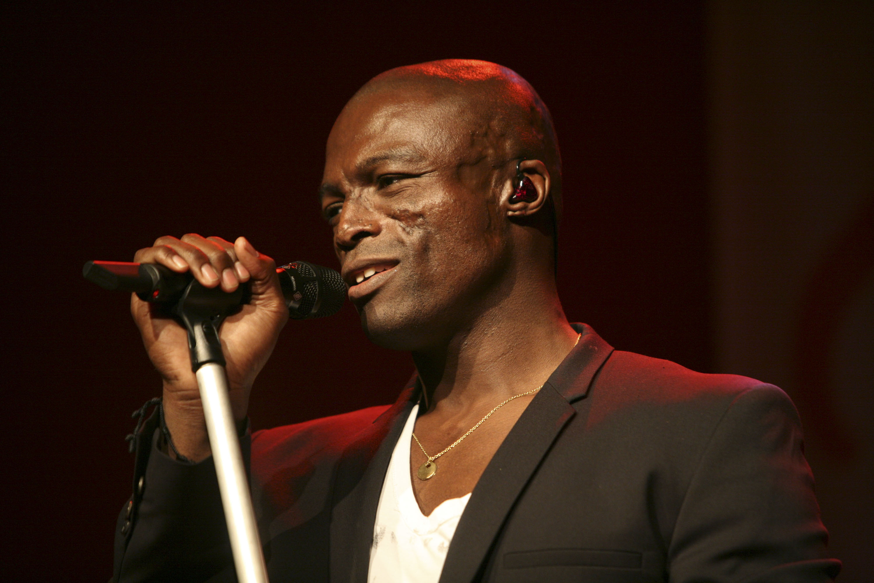 How did Seal get the scars on his face, is he married and what's his full name?