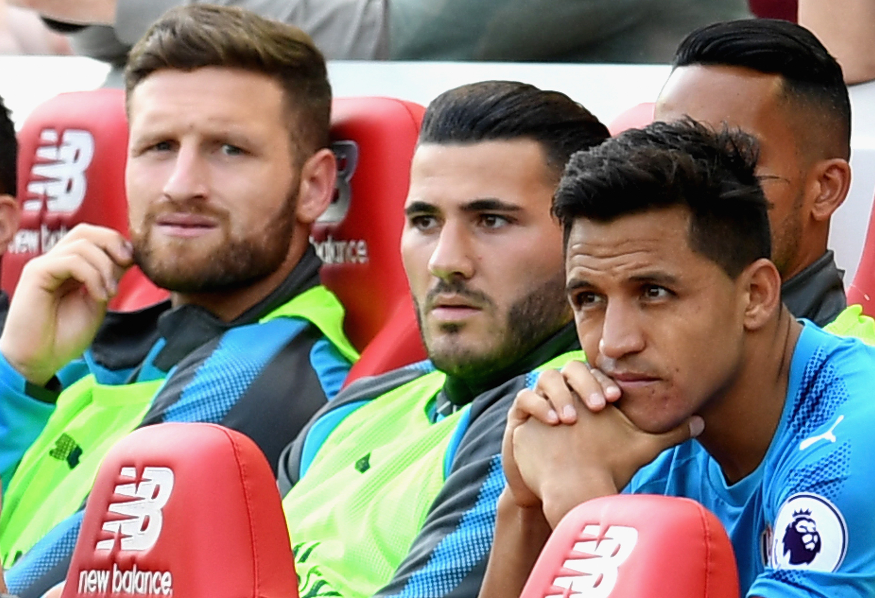 Sead Kolasinac admits it could be impossible for Arsenal to try and stop Liverpool's fab four, including Mohamed Salah