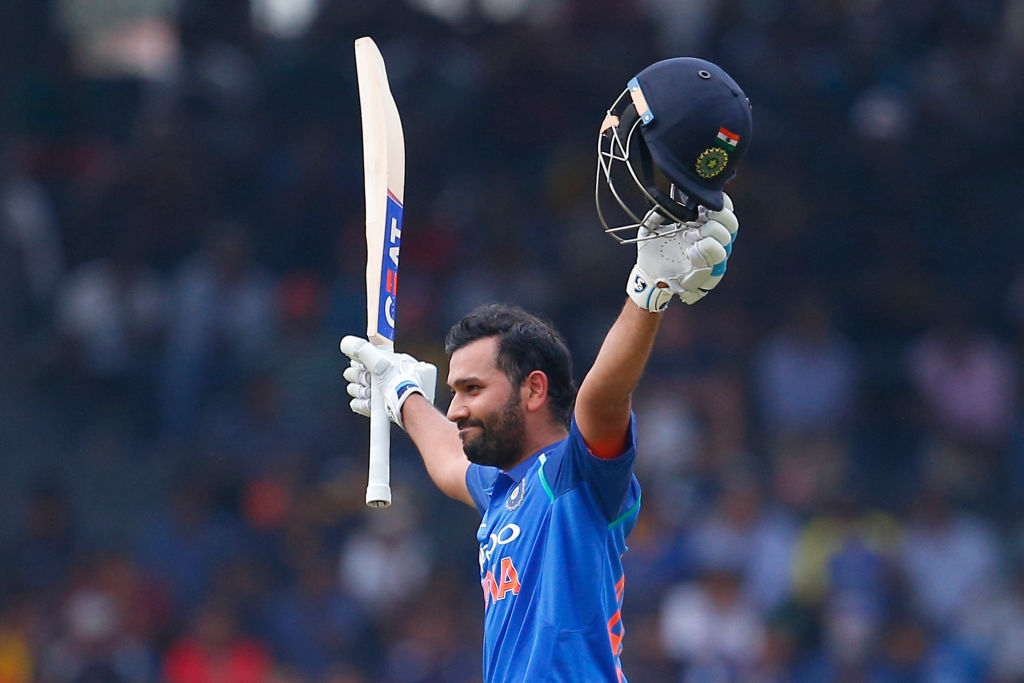 What is Rohit Sharma's net worth as he scores his third ODI double hundred?