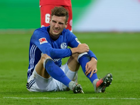 Manchester United transfer target Leon Goretzka set for spell on sidelines, Schalke confirm