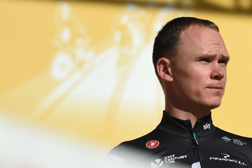 Tour de France champion Chris Froome failed urine test at Vuelta