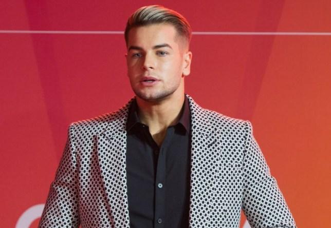 Chris Hughes at ITV Gala