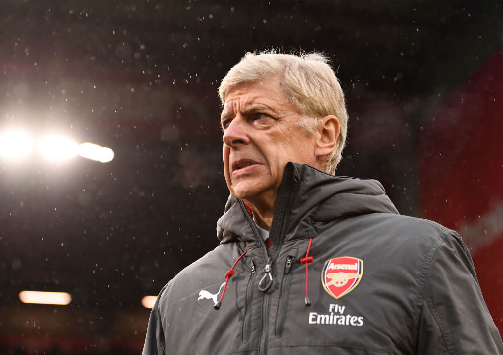 Arsene Wenger warns his Arsenal team about threat of four Manchester United stars