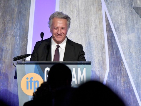 Actress alleges Dustin Hoffman groped her off stage and even while being photographed
