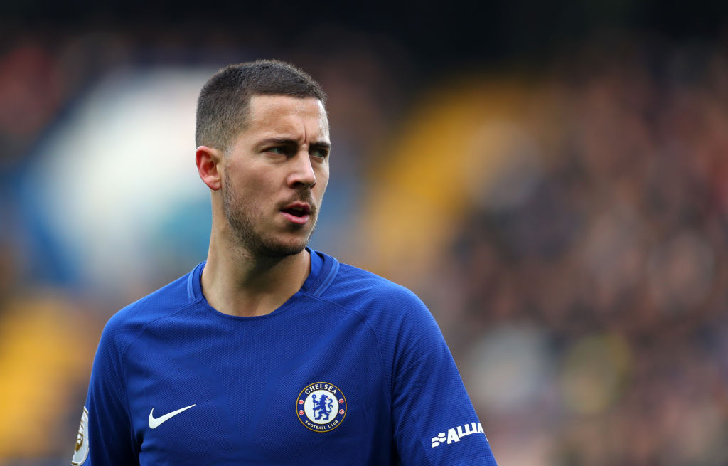 Eden Hazard set to snub Real Madrid transfer by signing new Chelsea contract