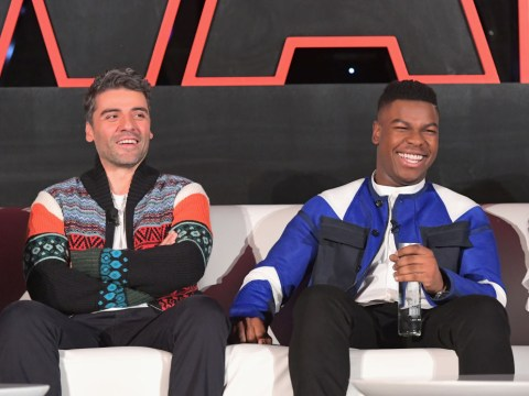 Star Wars' Oscar Isaac gets behind the Finn and Poe relationship