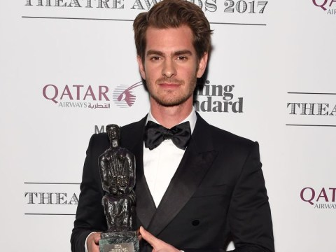 Andrew Garfield wins prestigious theatre award for Best Actor