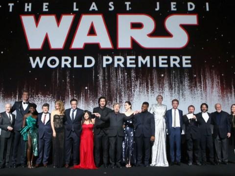 Star Wars fans in spoiler hysterics as beloved actor attends The Last Jedi premiere