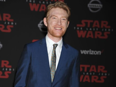 Domhnall Gleeson feared playing General Hux in Star Wars: 'I was concerned about the effect it'd have on my life'