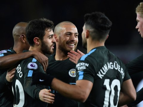 Manchester City break 15-year-old Arsenal record with victory over Swansea