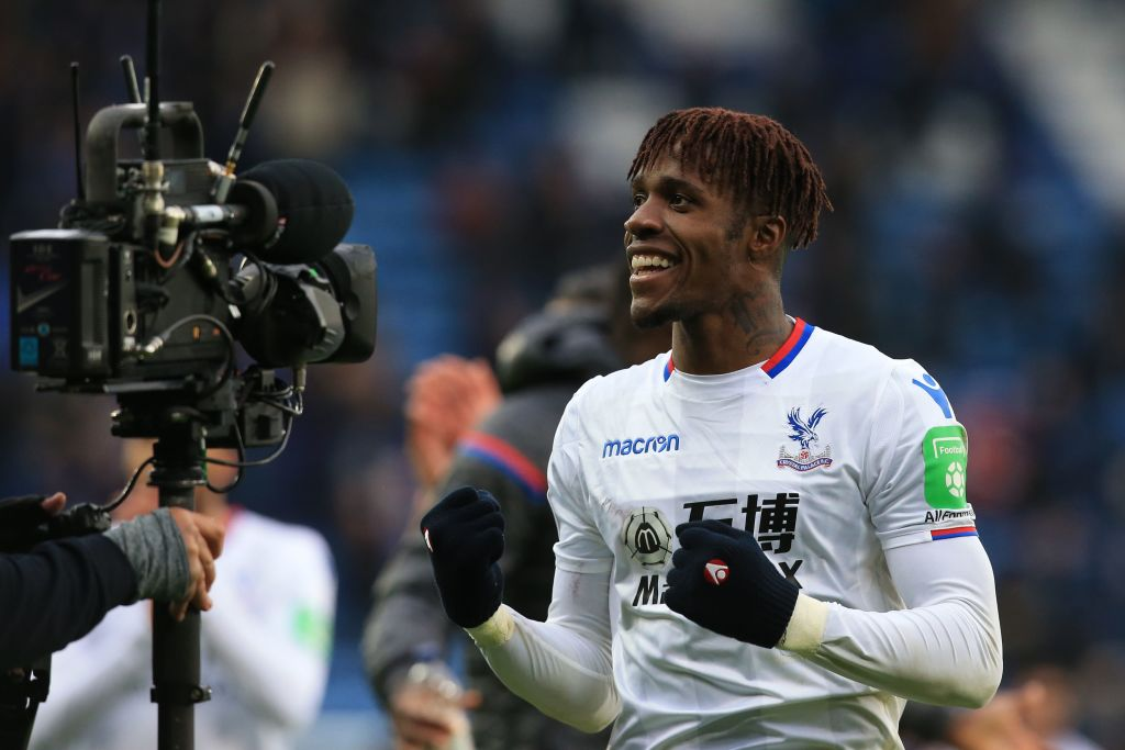 Crystal Palace manager Roy Hodgson welcomes interest in Wilfried Zaha