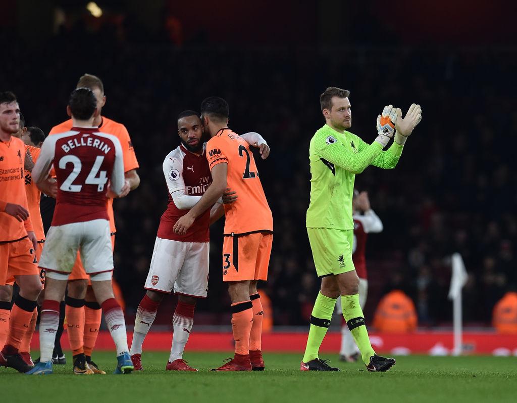 Jurgen Klopp speaks out on shocking Simon Mignolet mistake against Arsenal