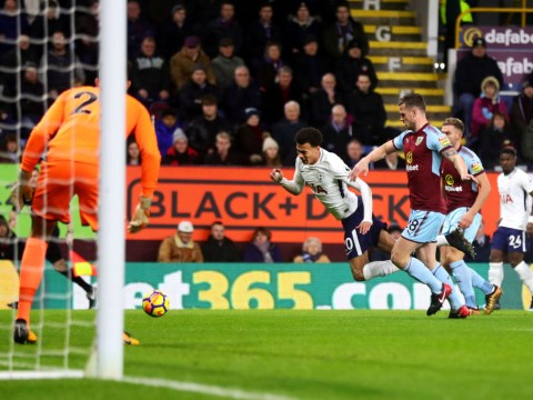 Dele Alli sparks 'diving' controversy in Tottenham's Premier League clash at Burnley