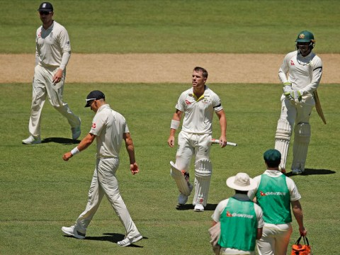 Ashes 2017: Australia opener David Warner hits century after no-ball lifeline on 99
