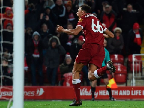 Trent Alexander-Arnold reveals what Jurgen Klopp said to him at full-time after Swansea thrashing