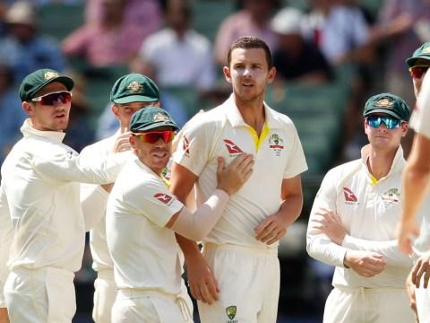 Josh Hazlewood brands Australia batsmen 'lazy' after Alastair Cook puts England on top