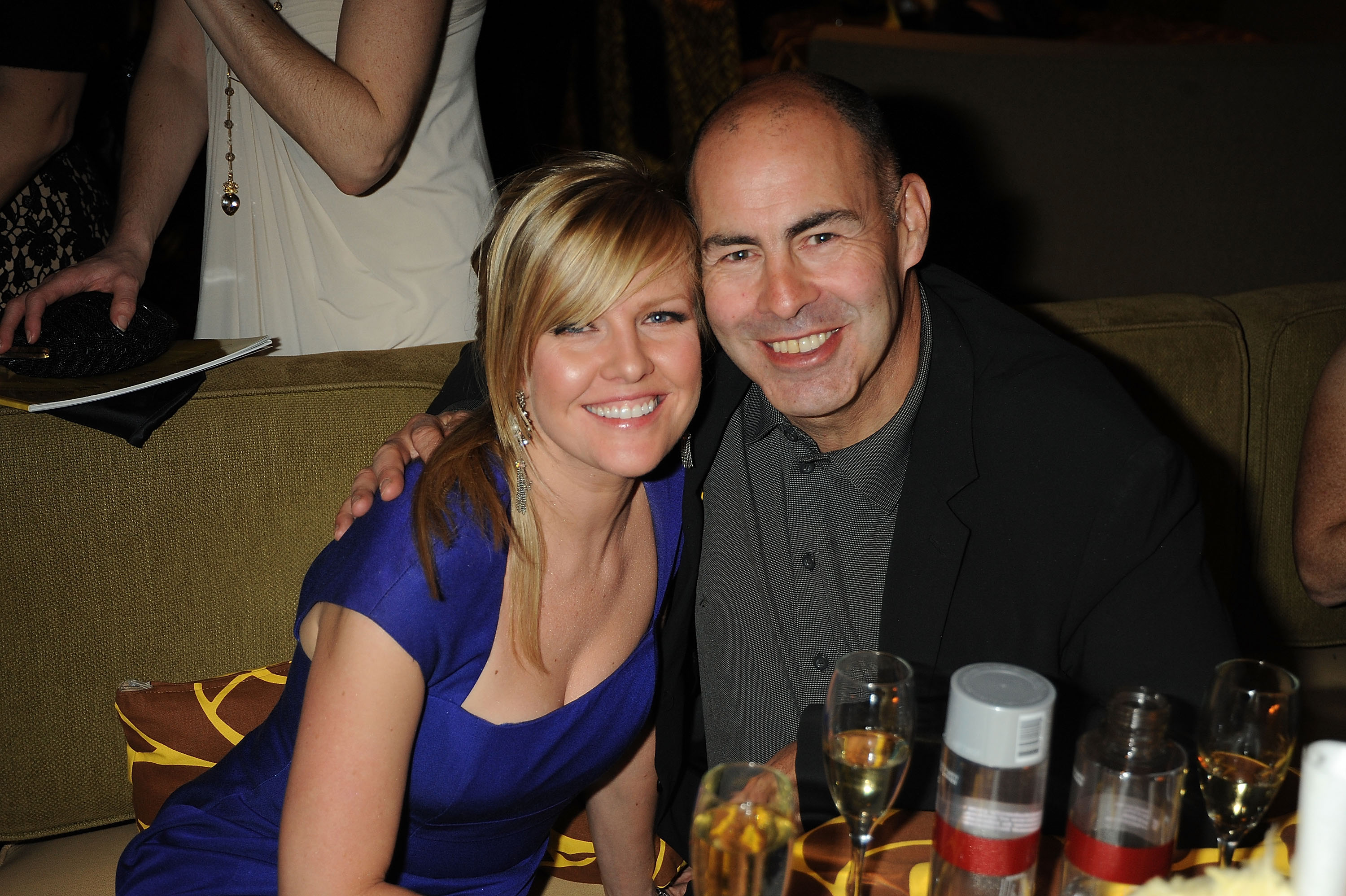 Ashley Jensen and Terrence Beesley