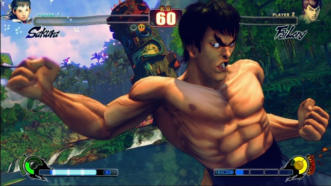 Street Fighter IV - that's Fei Long, not Bruce Lee