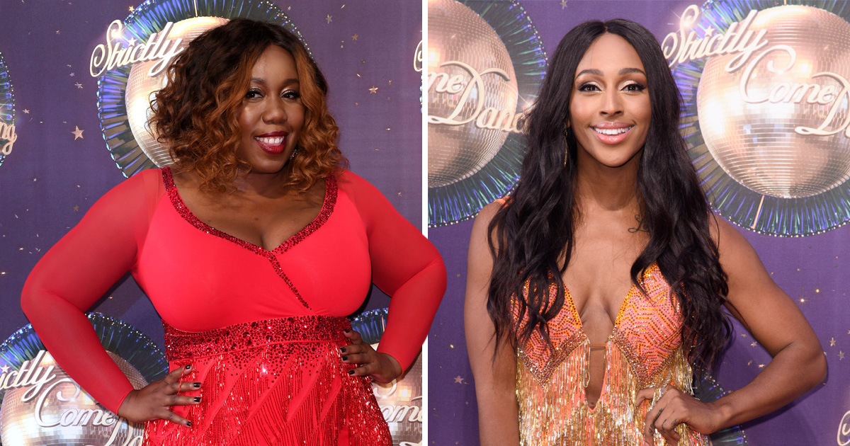 Alexandra Burke not winning Strictly Come Dancing is 'not a race thing', says Chizzy Akudolu