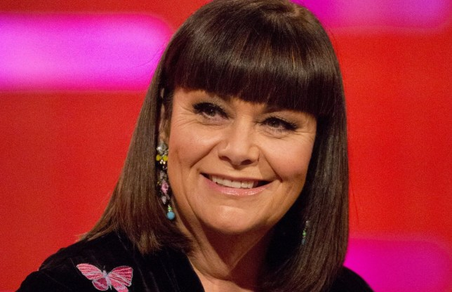 """File photo dated 07/12/17 of Dawn French on the Graham Norton Show, where she revealed that she once auditioned for a role in the film Mamma Mia, but was so nervous that she could not sing, which resulted in her not getting the role she had claimed was """"definitely in the bag"""". PRESS ASSOCIATION Photo. Issue date: Friday December 8, 2017. See PA story SHOWBIZ Norton French. Photo credit should read: Isabel Infantes/PA Wire"""