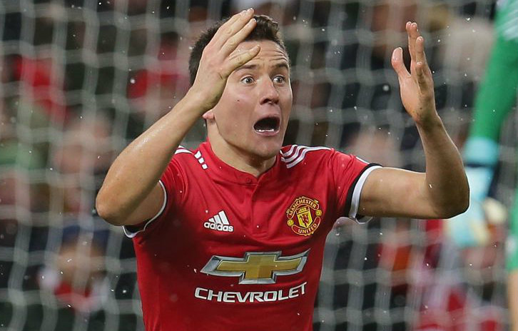 Ander Herrera breaks silence on booking and accuses Manchester City duo of diving at Old Trafford