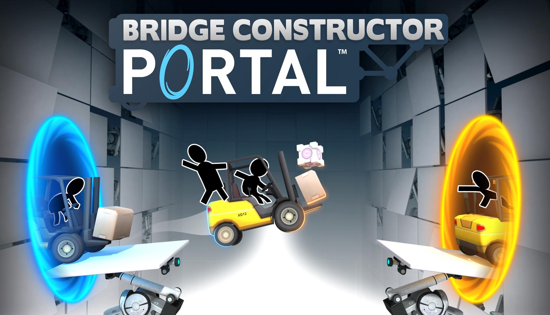 Bridge Constructor Portal review – the cantilever is a lie