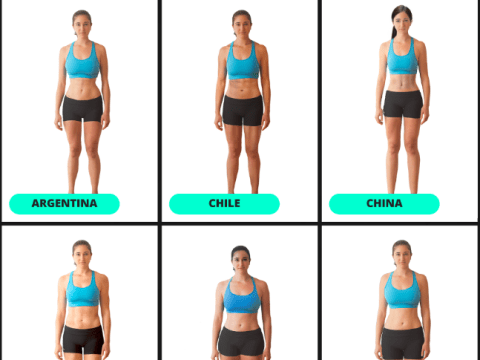 Here's how different female fitness looks around the world