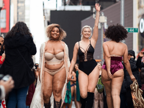 A load of real women walked The Real Catwalk to show off their real beauty