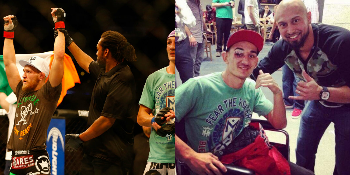 'I miss those sunglasses': Conor McGregor trolls Max Holloway with post-fight picture of their 2013 clash