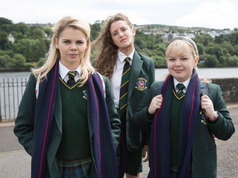 Derry Girls stars Saoirse-Monica Jackson and Nicola Coughlan say season one finale will 'give you chills'