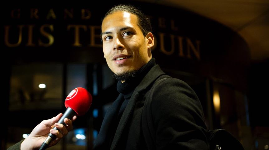 Virgil van Dijk sends message to new Liverpool team-mates after agreeing transfer